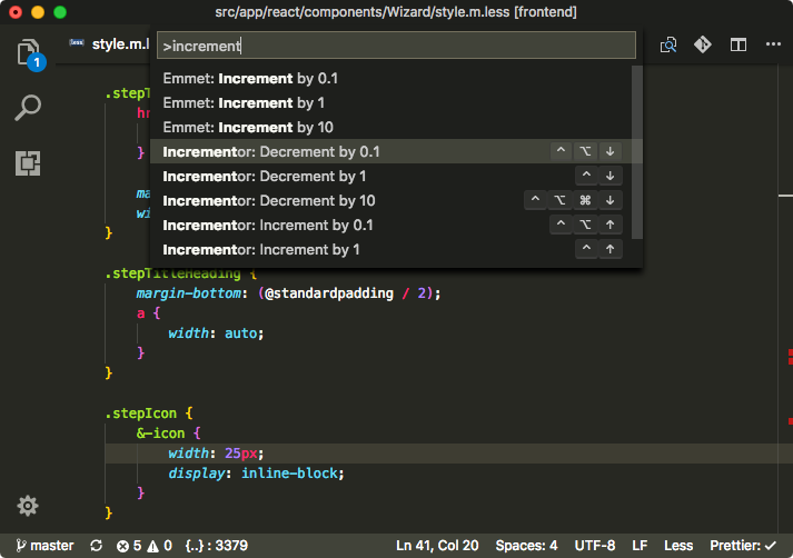 vs code incrementor commands.png